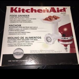KitchenAid Mixer Food Grinder Attachment NEW!!